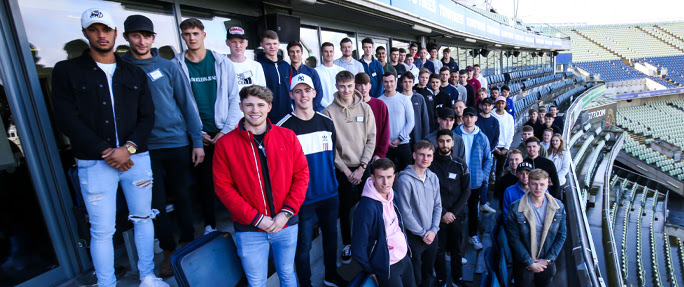 PCA - 25th February 2020 - 52 young cricketers inducted at 10th Rookie Camp